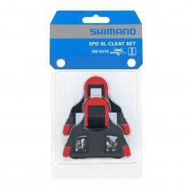 Shimano Tacchette Pedali SPD-SL SH10 Rosso 0°