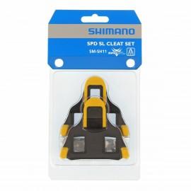 Shimano Tacchette Pedali SPD-SL SH11 Giallo 6°